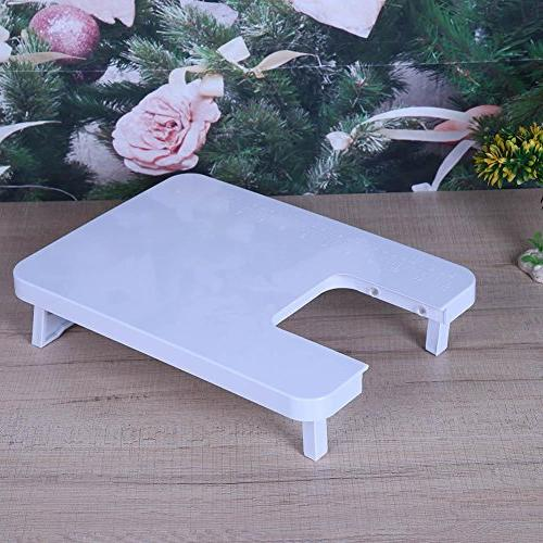 Whitelotous Machine Extension Table Plastic Expansion Board Household Sewing Tool Accessories