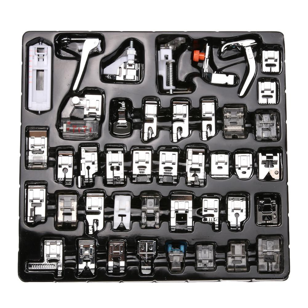 Domestic Sewing Machine Presser Foot Feet Tool Kit for Broth