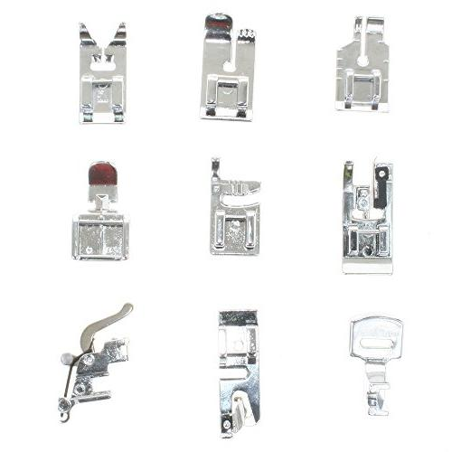 BIGTEDDY Domestic Machine Foot For Singer, Babylock, Janome, Kenmore, Riccar,