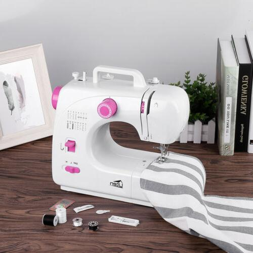 16 Stitch Overlock Electric Portable Sewing Machine Speed