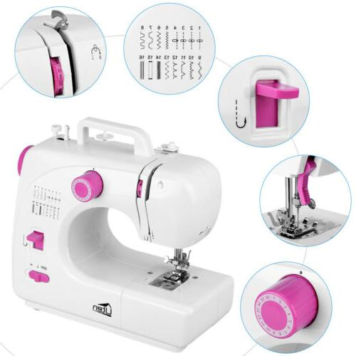 16 stitch overlock electric portable sewing machine