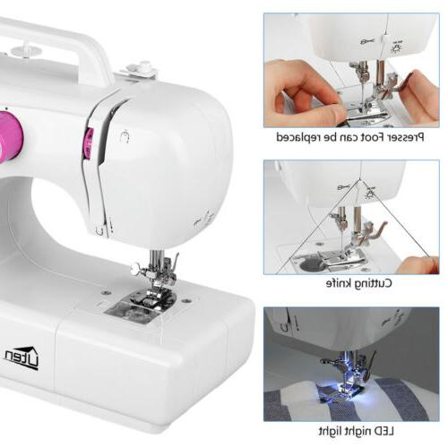 Electric Sewing 16 Machine Speed Adjustable