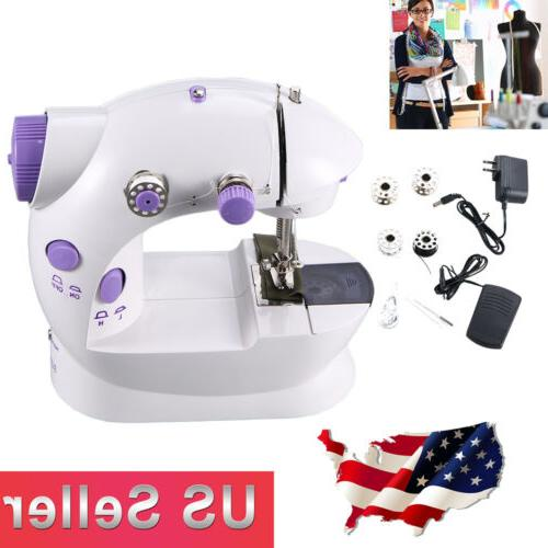 Portable Desktop Mini Electric Sewing Machine Hand Held Hous