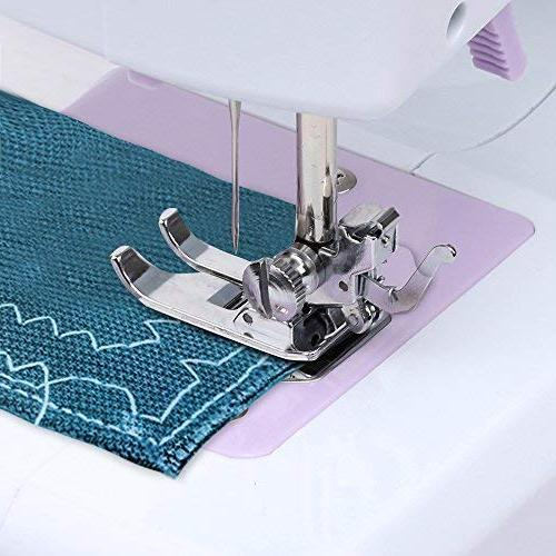 DONYER POWER Sewing Machine Portable Mini Speeds Double Thread, Embroidery,Foot Pedal