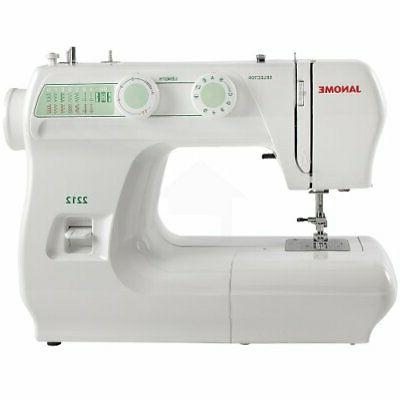 electric sewing machine w easy turn dial