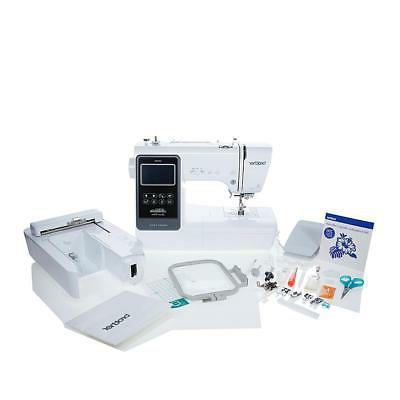 embroidery and sewing machine with value bundle
