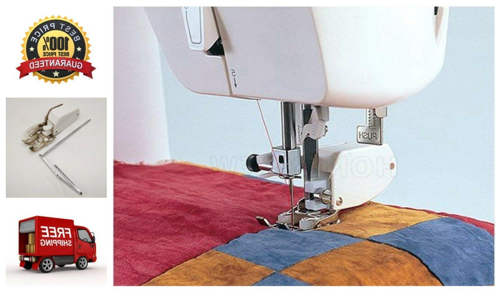 Even Feed/Walking Foot Sewing Machine Presser Foot Quilt Gui