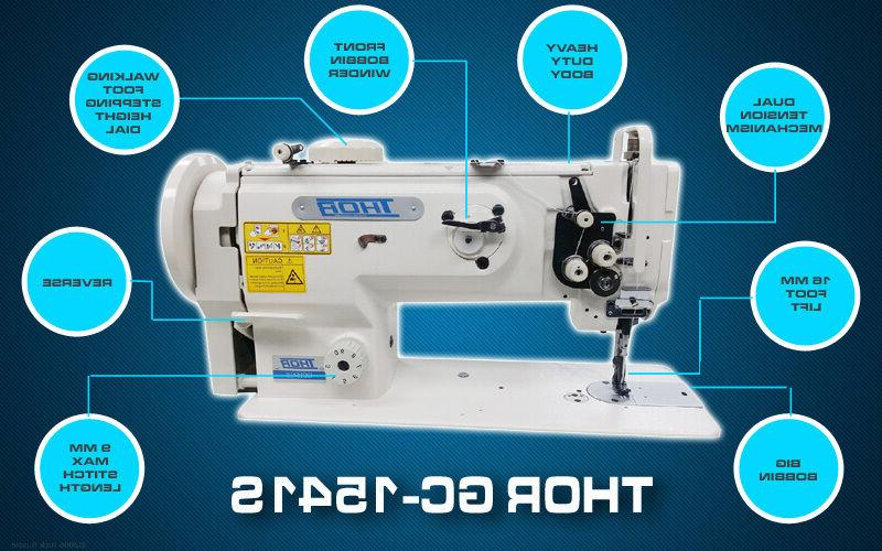 THOR GC1541S Leather and Upholstery Machine - Head - New