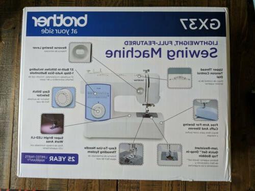 gx37 37 stitch sewing machine new in