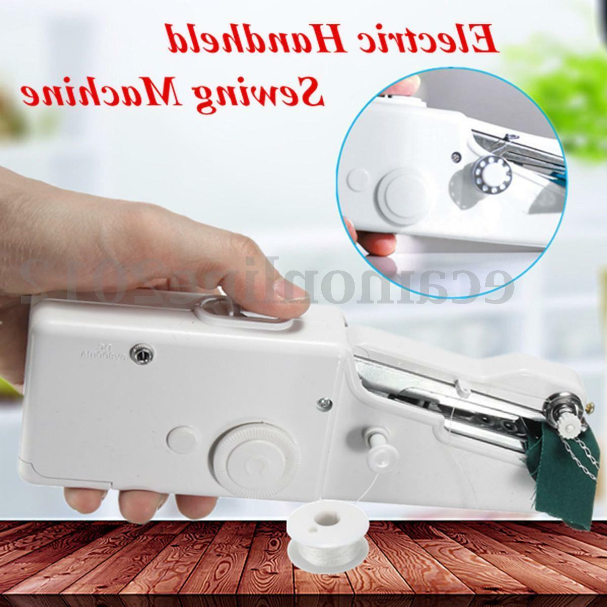 Handheld Sewing Machine Singer Portable Stitch Sew Quick Han