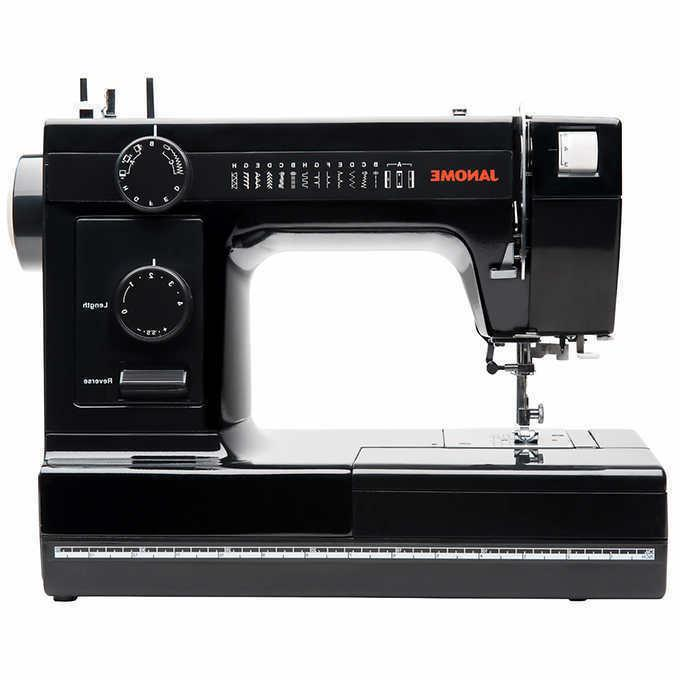 Janome Black Heavy Commercial-Grade Sewing Machine