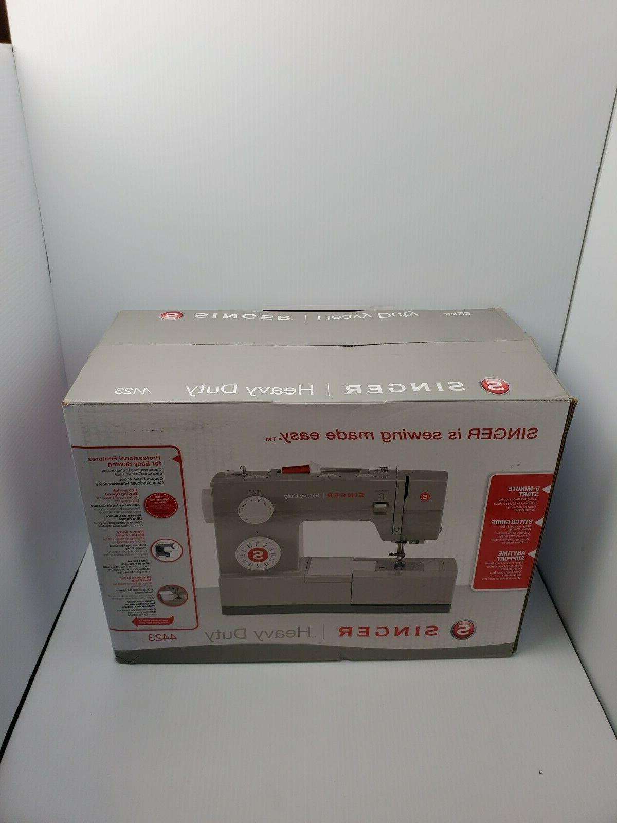 heavy duty 4423 sewing machine free priority