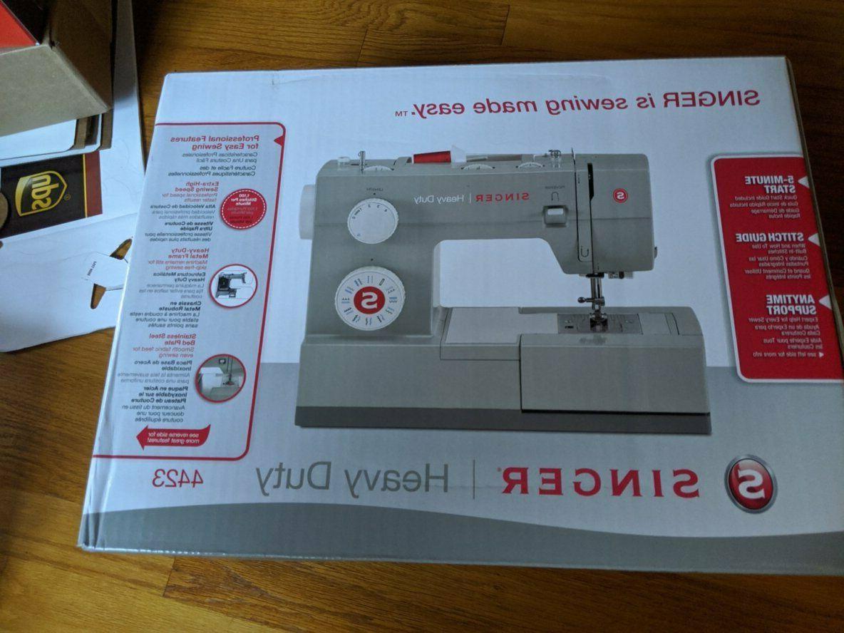 heavy duty 4423 sewing machine white
