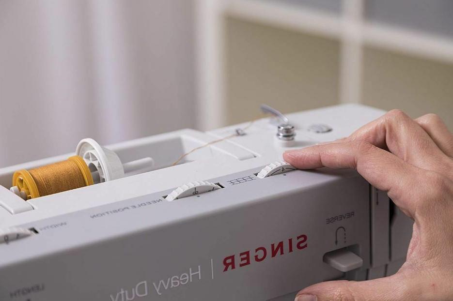 Heavy Duty Sewing Adjustable Needle Denim Canvas