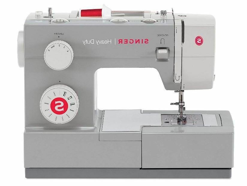heavy duty sewing machine adjustable needle fabric