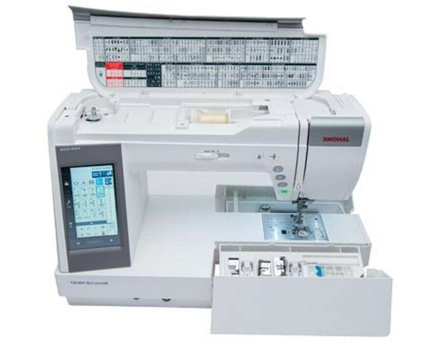 JANOME MC QCP MACHINE!