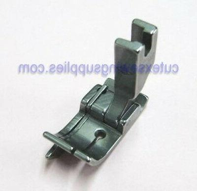 industrial sewing machine hinged presser foot