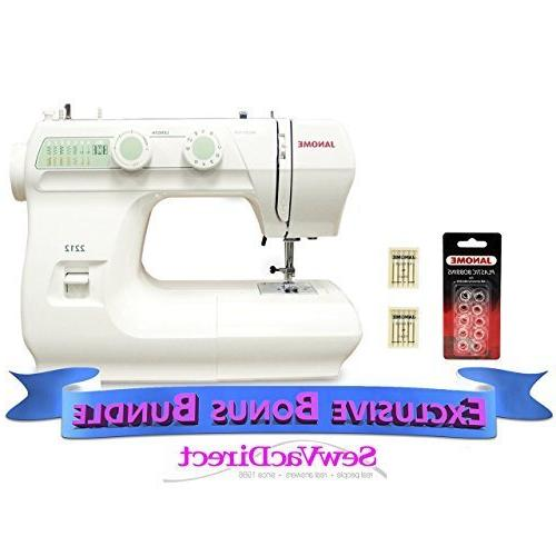 janome 2212 sewing machine includes