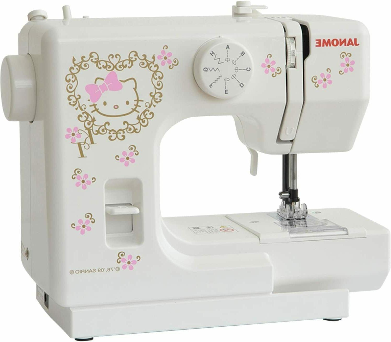 JANOME Hello Kitty Electric Sewing Machine Perfect KT-35 Jap