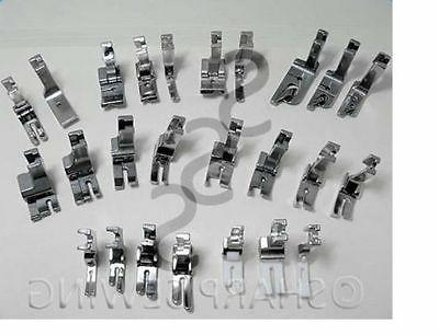 JUKI INDUSTRIAL SEWING MACHINE 25 PRESSER FOOT SET