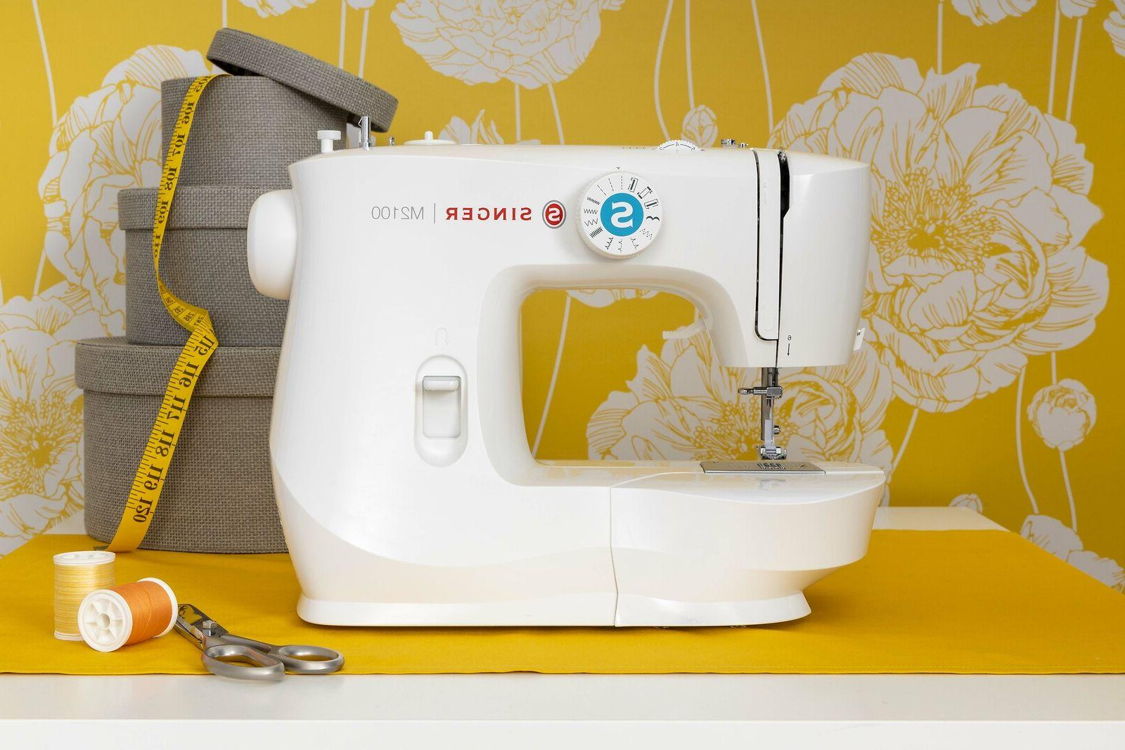 SINGER M2100 Sewing with