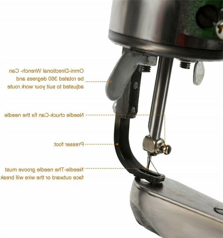 Manual Repair Sewing Machine Dual Cotton Line+