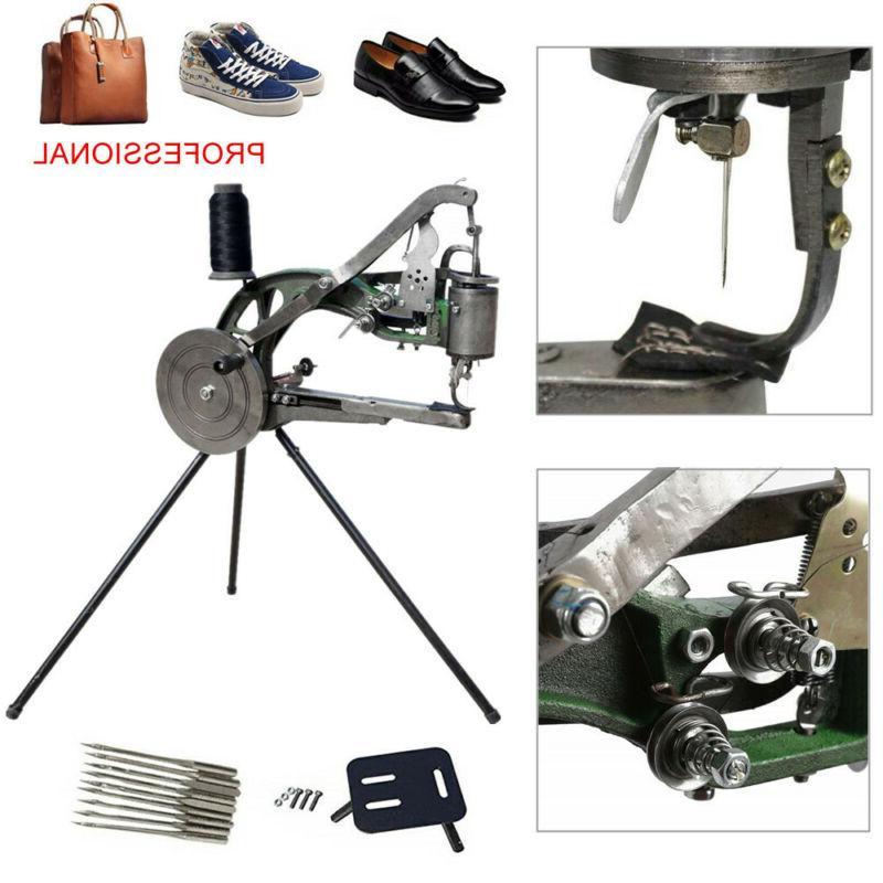 manual cobbler shoe repair sewing machine dual