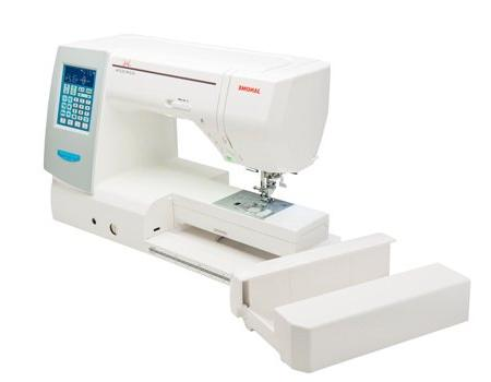 Janome Memory Horizon 8200 Computerized Table Semi-Hard + Guide Much