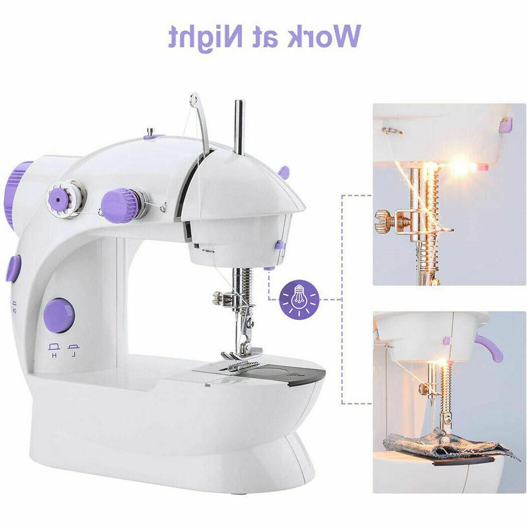 Mini Automatic Double Thread Pedal Sewing