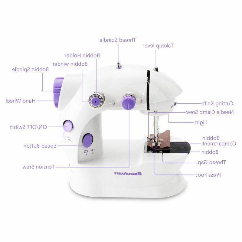 Mini Sewing Electric Hand Double +