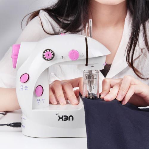Mini Electric Portable Desktop Sewing Machine