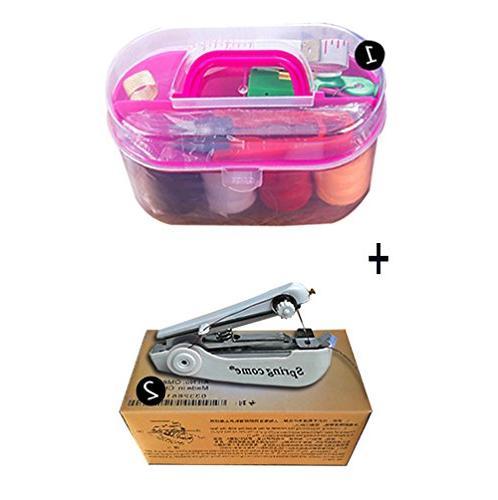 mini handheld sewing machine kit