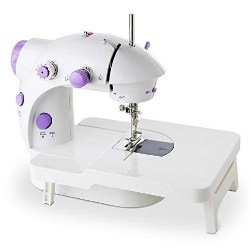mini portable sewing machine double
