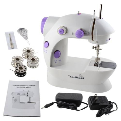 mini portable sewing machine with light