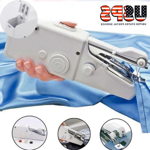 Hand Held Sewing Machine Portable Electric Stitch Mini Cordl