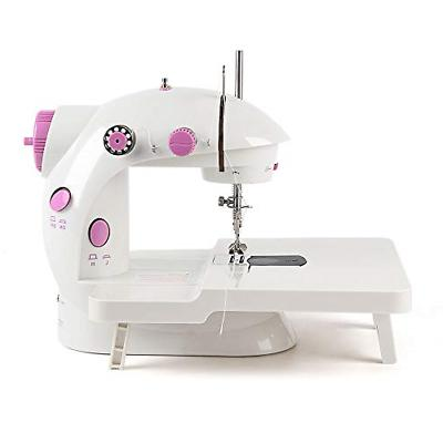 mini sewing machine double speed double thread