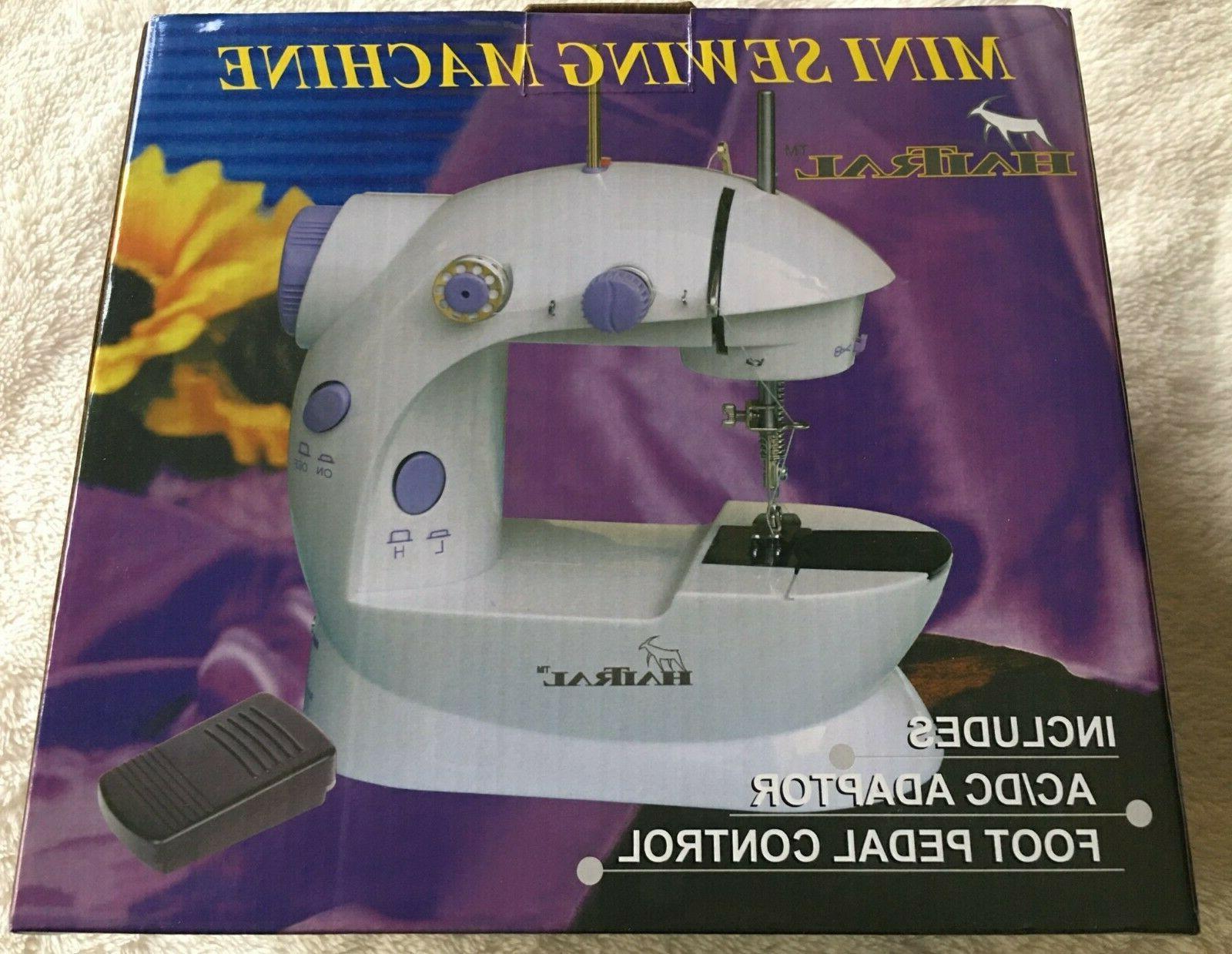mini sewing machine fhsm 202 includesac dc