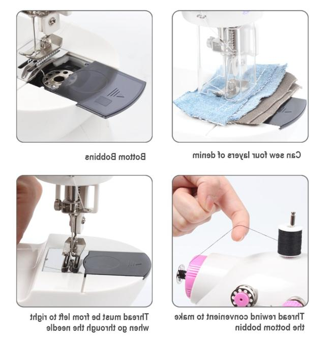 NEX Mini Machine w/Safety Open Box Great 1st Sewing Machine/Crafter