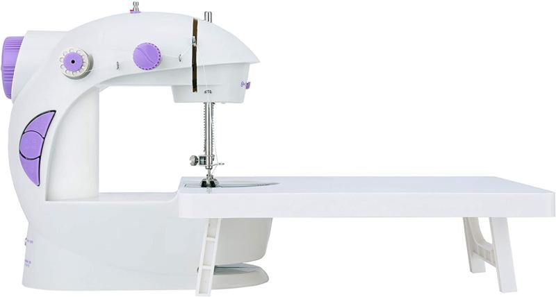 Varmax Mini Sewing Machine with Extension Table Portable Spa