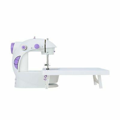 mini sewing machine with extension table basic