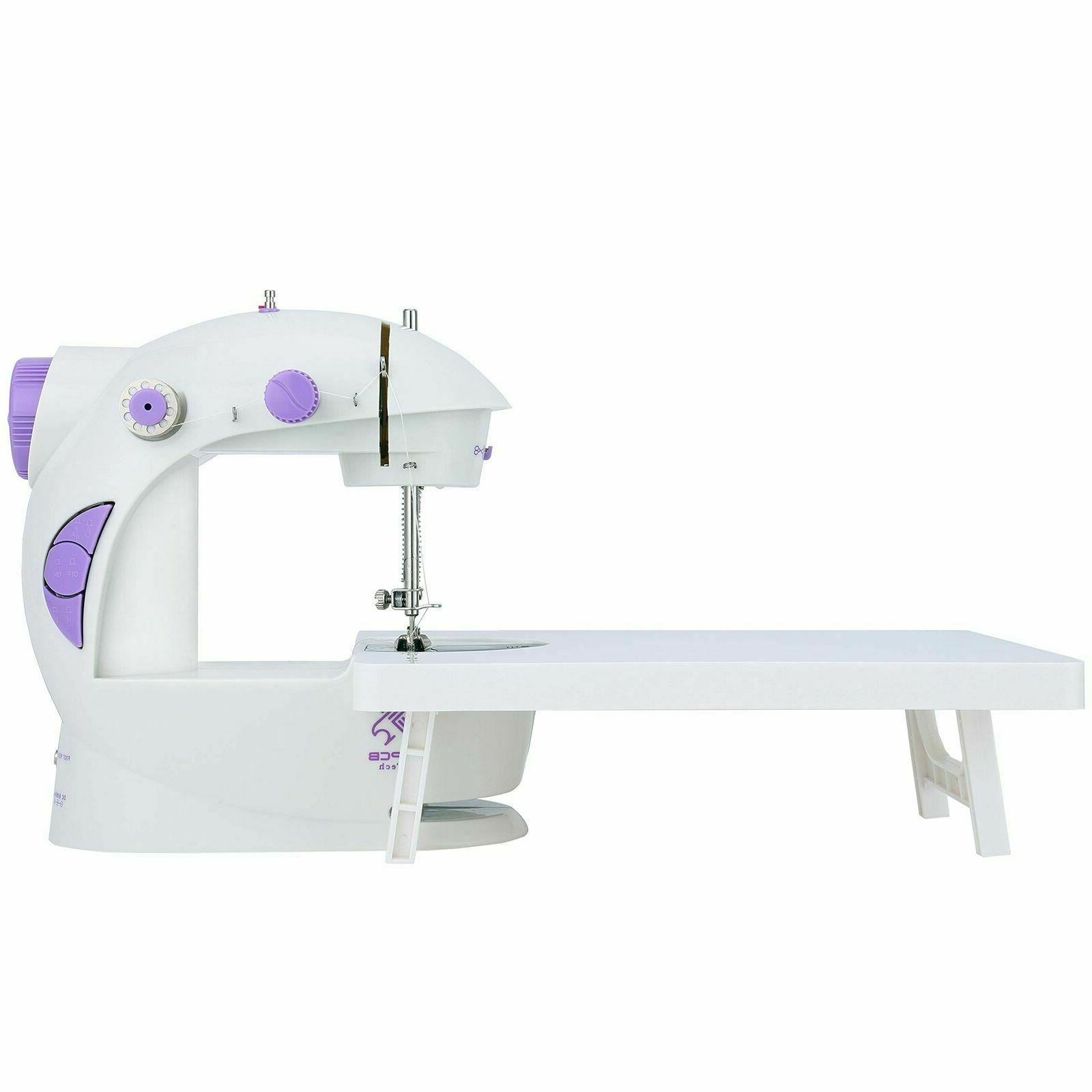 mini sewing machine with extension table new