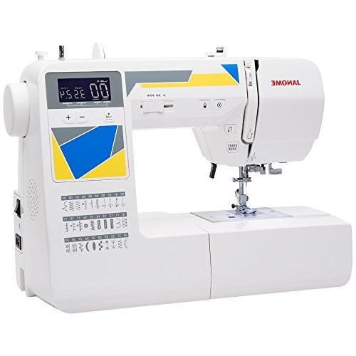 Janome Machine with Stitches, 3 Drop Feed and