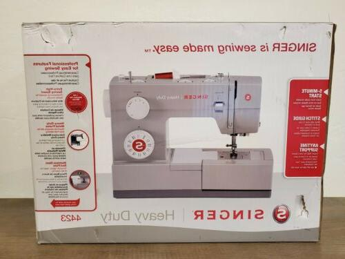 🧵 NEW Heavy Duty Sewing Machine Extra High FREE