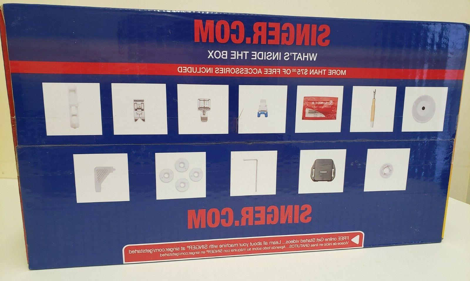 NEW M3400 Sewing Machine Built-In Stitches and Accessories