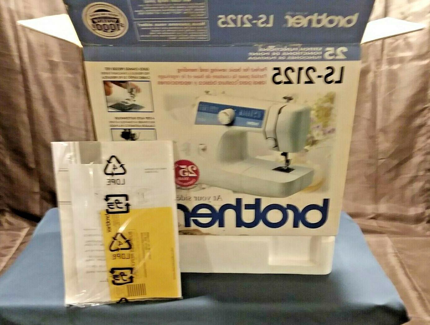 new sewing machine ls 2125i hs 150