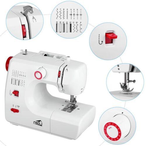Electric Household Sewing Machine 16 Stitch Machine Speed Ad