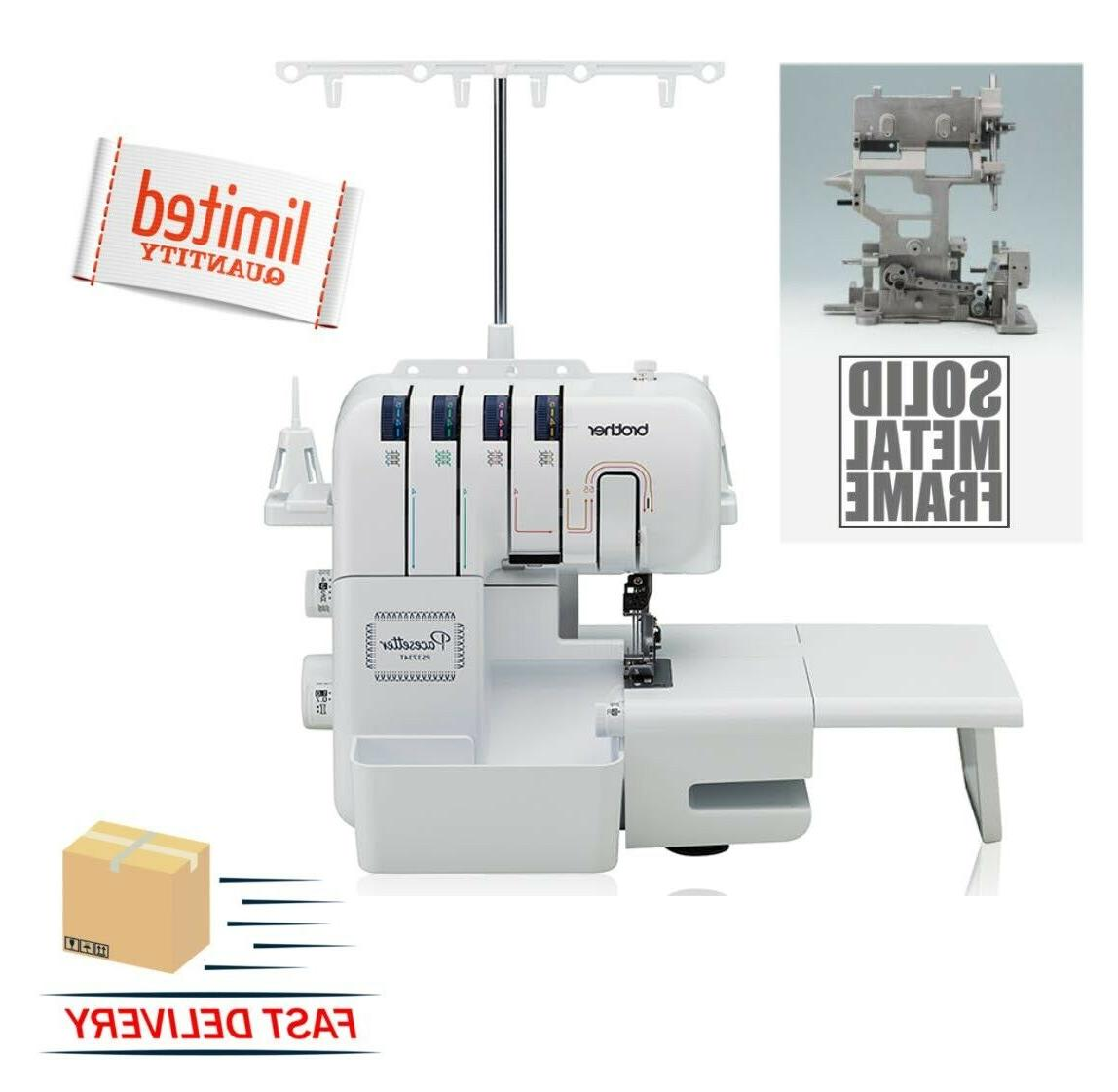 pacesetter ps3734t 3734 t serger overlock sewing