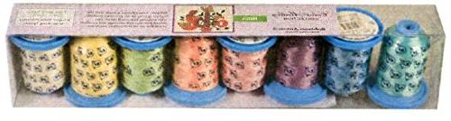 pastels polyester embroidery thread