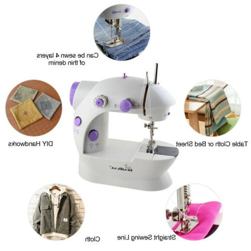 Sewing Thread Kit Portable Sewing Machine Electric Stitches