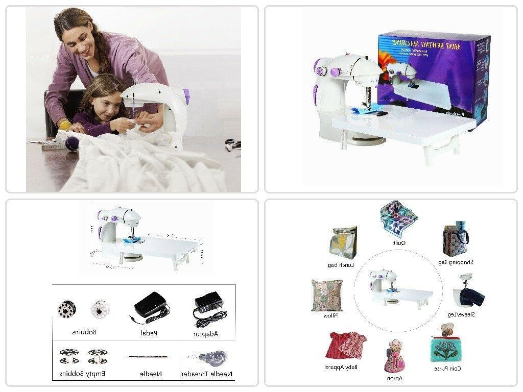portable beginners kids adult sewing machine mending